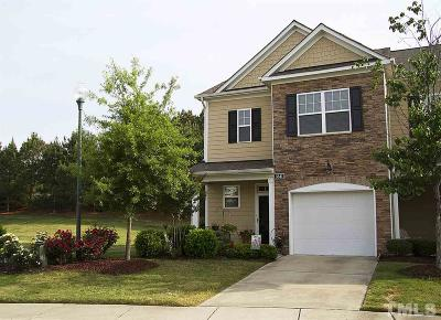 Wake Forest Townhouse Contingent: 3841 Wild Meadow Lane
