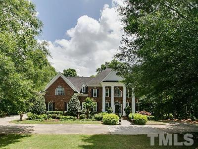 Raleigh Single Family Home For Sale: 1013 Bentham Drive