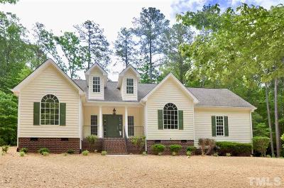 Sanford Single Family Home Contingent: 6015 Cypress Point