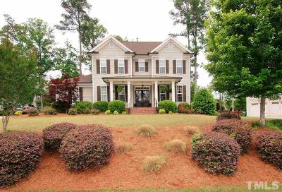 Apex Single Family Home For Sale: 2651 Silver Bend Drive