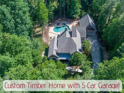 Raleigh Single Family Home For Sale: 8208 Whispering Glen Lane