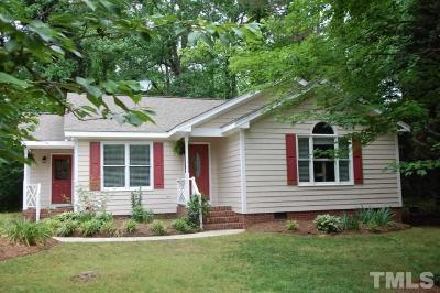 Youngsville NC Single Family Home Pending: $175,000