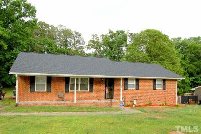 Durham Single Family Home Contingent: 221 S Woodcrest Street