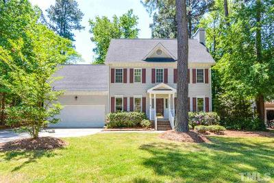 Holly Springs Single Family Home For Sale: 629 St Vincent Drive