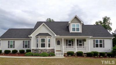 Angier Single Family Home For Sale: 22 Dresdone Court