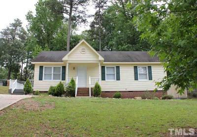 Clayton Single Family Home Contingent: 2733 Brigadoon Drive