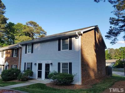 Cary Townhouse Pending: 1034 Nottingham Drive