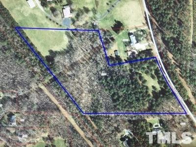 Durham County Residential Lots & Land For Sale: 9841 Quail Roost Road