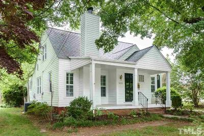 Wake County Single Family Home For Sale: 312 Hudson Street