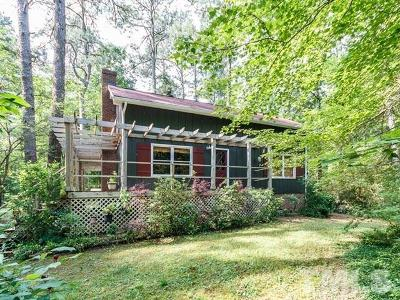 Chapel Hill Single Family Home For Sale: 5506 Bobcat Road