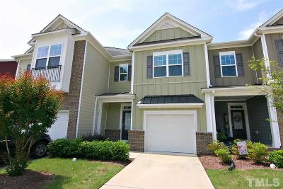 Apex Townhouse For Sale: 756 Treviso Lane