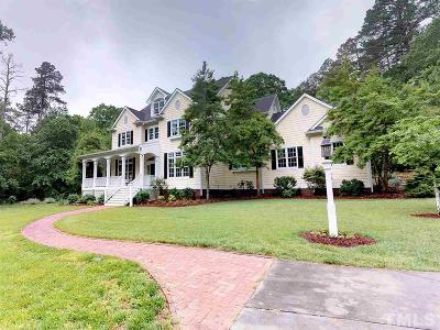 Chapel Hill Single Family Home For Sale: 3821 Stoneycreek Road