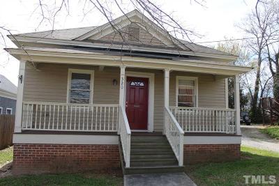 Raleigh Rental For Rent: 320 E Davie East