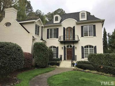 Raleigh Rental For Rent: 3309 Darien Drive