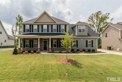 Clayton NC Single Family Home For Sale: $345,000
