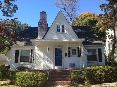 Raleigh Rental For Rent: 1003 Brooks Avenue