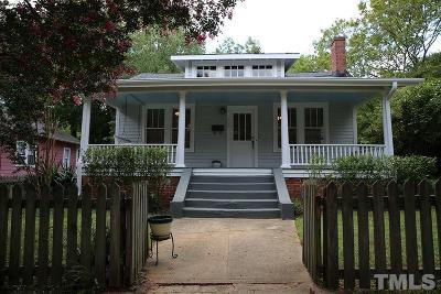 Raleigh Rental For Rent: 600 N Boundary Street
