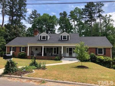Durham Single Family Home For Sale: 1501 Sycamore Street