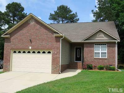 Sanford NC Single Family Home For Sale: $190,000