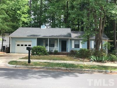 Cary Rental For Rent: 1019 Castalia Drive