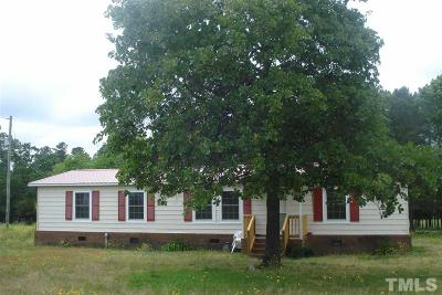 Harnett County Manufactured Home For Sale: 2811 Cool Springs Road