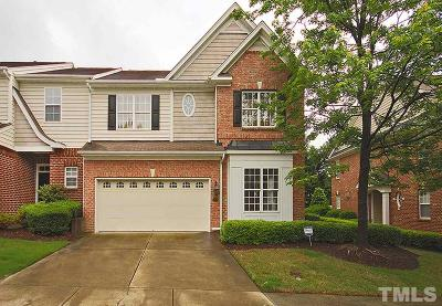 Wake County Townhouse For Sale: 13107 Ashford Park Drive