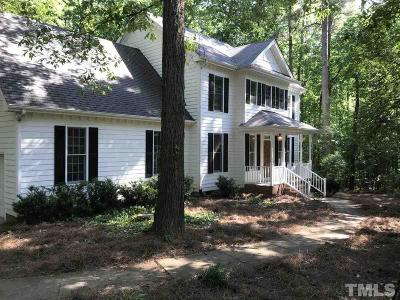 Wake County Single Family Home For Sale: 4509 Briarglen Lane
