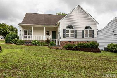 Raleigh Single Family Home Pending: 248 Cross Current Lane