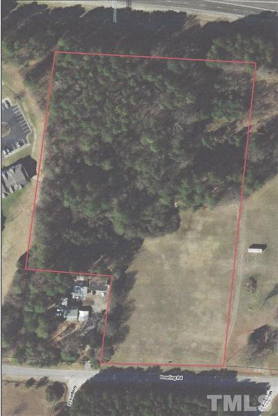 Wake County Residential Lots & Land For Sale: 1120 Dowling Road