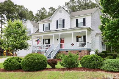 Angier Single Family Home For Sale: 33 Cabin Grove Court