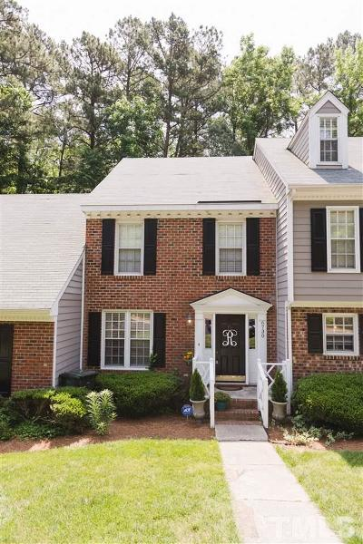 Wake County Townhouse For Sale: 6730 Queen Annes Drive