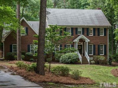 Wake County Single Family Home For Sale: 505 Hi Bridge Court