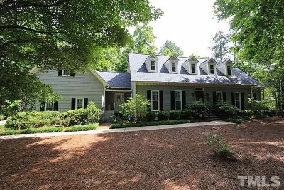Wake County Single Family Home For Sale: 5820 Glenfiddich Way