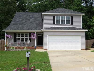 Sanford Single Family Home For Sale: 408 Crusaders Drive