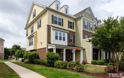 Wake County Townhouse For Sale: 1309 Rembrandt Circle
