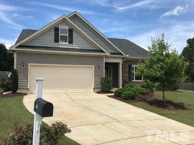 Angier Single Family Home For Sale: 65 Arbor Loop