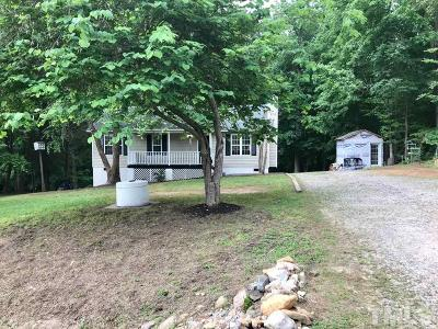 Youngsville NC Single Family Home For Sale: $165,000