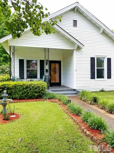 Johnston County Single Family Home Contingent: 514 S 2nd Street