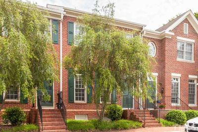 Wake County Townhouse For Sale: 112 Hatfield Lane