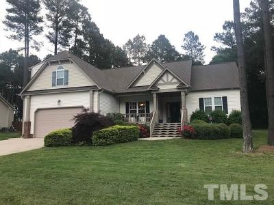 Clayton Single Family Home Contingent: 1009 Contender Drive