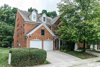 Raleigh Townhouse For Sale: 3721 Old Post Road