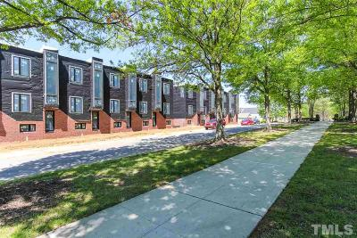 Raleigh Townhouse For Sale: 412 Chavis Way
