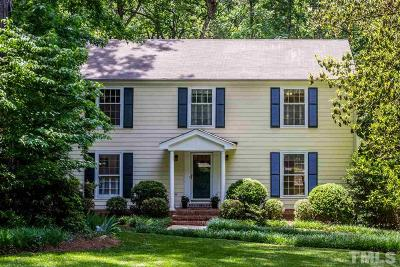 Raleigh Single Family Home For Sale: 1629 Brook Run Drive