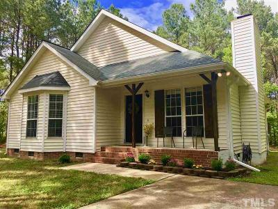 Youngsville Single Family Home Pending: 7008 Lazy Breeze Circle
