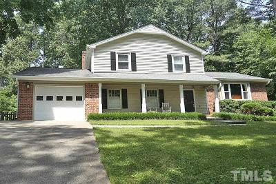 Raleigh NC Single Family Home Contingent: $367,900