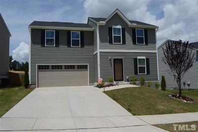 Clayton Single Family Home For Sale: 341 Fieldspar Lane