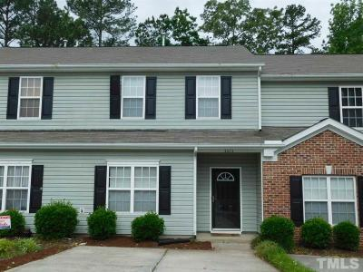 Durham County Townhouse For Sale: 5025 Rainmaker Drive