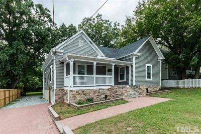 Durham Single Family Home For Sale: 710 Holloway Street