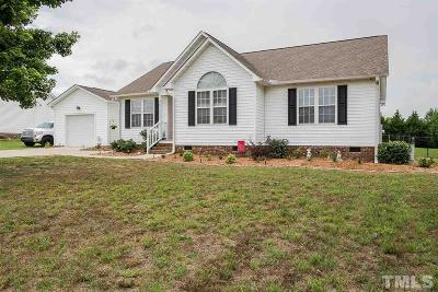 Willow Spring(s) Single Family Home For Sale: 118 Rosa Circle