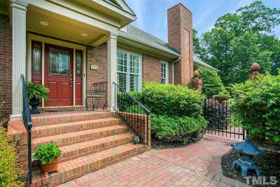 Raleigh Townhouse Contingent: 8820 Mariner Drive
